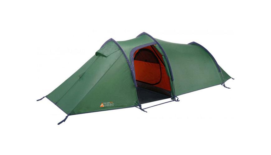 Vango Pulsar 200 tent groen/oranje